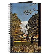 Rousseau: View of Parc de Monsouris Journal
