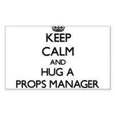 Keep Calm and Hug a Props Manager Decal