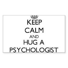 Keep Calm and Hug a Psychologist Decal