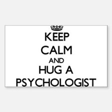 Keep Calm and Hug a Psychologist Decal