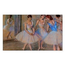 degas dancers with mirror copy Decal