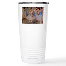 degas dancers with mirror copy Travel Mug