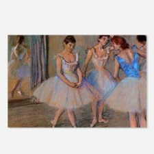 degas dancers with mirror Postcards (Package of 8)