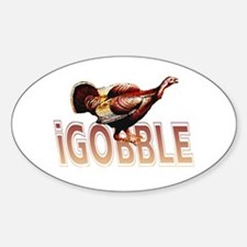 iGOBBLE Oval Decal