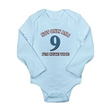 10 year old birthday designs Onesie Romper Suit