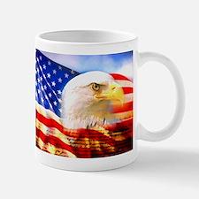 American Bald Eagle Collage Mugs