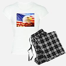American Bald Eagle Collage Pajamas