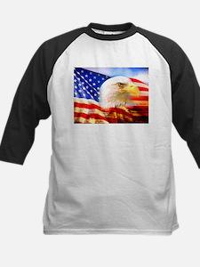 American Bald Eagle Collage Baseball Jersey