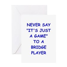 BRIDGE Greeting Cards