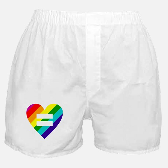 Rainbow love equals love Boxer Shorts