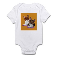 Corgi pair Infant Bodysuit