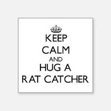 Keep Calm and Hug a Rat Catcher Sticker
