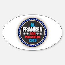 Al Franken for President Decal