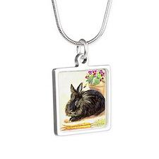 burgess_11xfm Silver Square Necklace