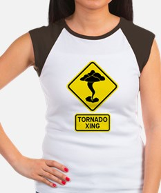 tornadoCrossing Women's Cap Sleeve T-Shirt