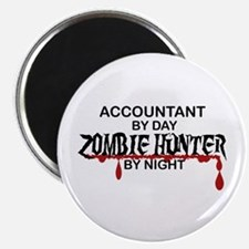"Zombie Hunter - Accountant 2.25"" Magnet (100 pack)"