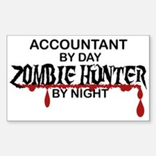Zombie Hunter - Accountant Decal