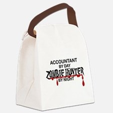 Zombie Hunter - Accountant Canvas Lunch Bag