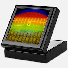 Silicon chip wafer Keepsake Box