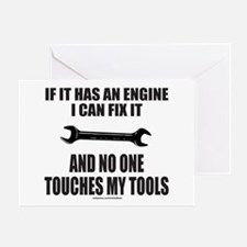 IF IT HAS AN ENGINE Greeting Card