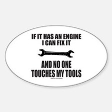 IF IT HAS AN ENGINE Decal