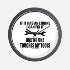 IF IT HAS AN ENGINE Wall Clock