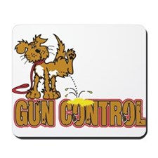 Piss on Gun Control Mousepad
