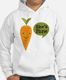 Couples Matching Shes Mine Hoodie