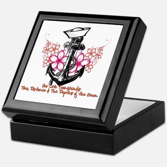 Our Love Transcends Keepsake Box