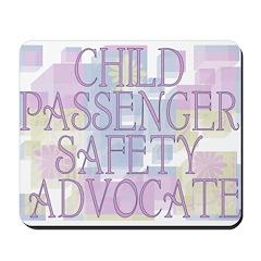 Child Passenger Safety Techni Mousepad