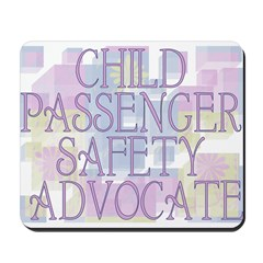 Child Passenger Safety Techni Mousepad