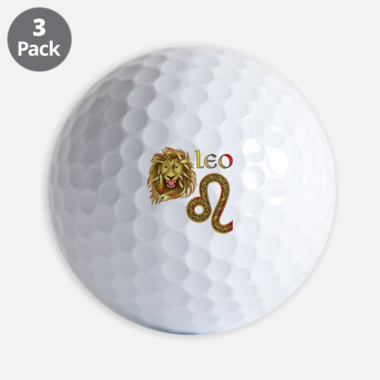Leo Golf Ball