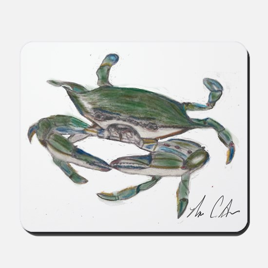 crab  colored Mousepad