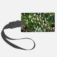 Sweet Violet (Viola odorata) Luggage Tag