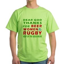 Beer Women and Rugby T-Shirt