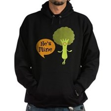 Couples Hes Mine Matching Broccoli Hoodie