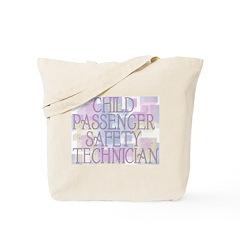 Child Passenger Safety Techni Tote Bag
