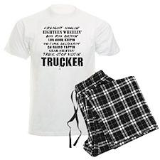 Freight Haulin' Trucker pajamas