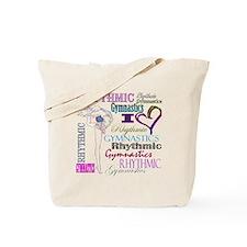 I Heart Rhythmic Gymnastics Tote Bag