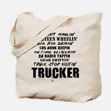 Freight Haulin' Trucker Tote Bag