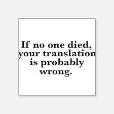 TranslationError Sticker