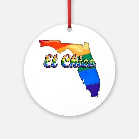 El Chico Round Ornament