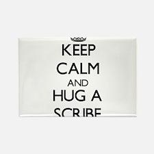 Keep Calm and Hug a Scribe Magnets