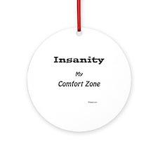 Comfort Zone Round Ornament