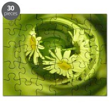 Daisies Bottled Laptop Skin Puzzle