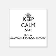 Keep Calm and Hug a Secondary School Teacher Stick