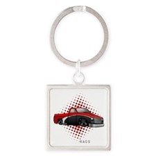 greasyrags1 Square Keychain