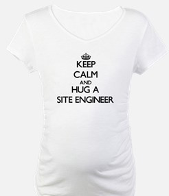 Keep Calm and Hug a Site Engineer Shirt