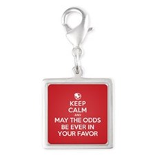 Keep Calm May the Odds Be Ever In Your Favor Charm