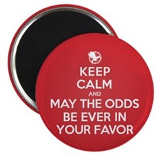 Keep Calm May the Odds Be Ever In Your Favor Magne